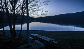 Tramonto sul Lago di Canterno